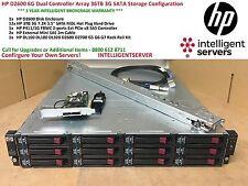HP D2600 6G SAS Storage Array | 36TB SATA Storage | Rack Rails AJ940A 628059-B21