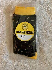 Third Man Records Socks (New) Jack White, TMR, Raconteurs