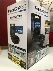 Shark IQ Robot R105AE  Self-Empty Base Home Mapping Vacuum Cleaner Black New
