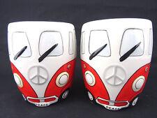 Bulli VW TassenSet KaffeeTeebecher Bürotasse Urlaub Camping Dekoration Geschenk