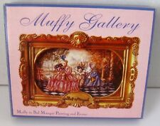 NABCO MUFFY COLLECTION Muffy in Bal Masque Painting & Frame NIP!