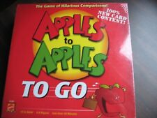 MATTEL APPLES TO APPLES TO GO, THE GAME OF HILARIOUS COMPARISONS, FAMILY, NEW,