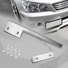 For Scion Subaru Chrome Aluminum Front License Plate Mount Relocate Bracket Bar