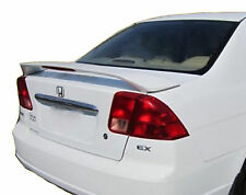 PAINTED REAR WING SPOILER FOR A HONDA CIVIC 4-DOOR FACTORY 2001-2005
