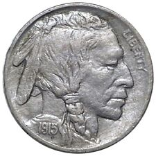 1915 Buffalo Head Nickel, Early Date Nice Features 5c Philadelphia Mint No Res!