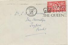"2451 1953 QEII Coronation 2 1/2D FDC ""FARNHAM / SURREY - LONG LIVE THE QUEEN"""