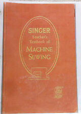 SINGER Teacher's Textbook of Machine Sewing 1957-on CD (PDF file) FREE SHIPPING!