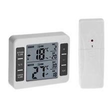 LED Digital Thermometer Remote Sensor Wireless Fridge Outdoor Temperature Meter