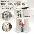 Modern Nightstand Beside Table White Bedroom Coffee Side End Table Storage Desk