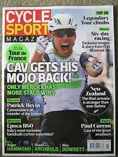 Cycle Sport magazine September 2016 Tour de France Patrick Bevin Epoca R60