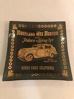 "Rare Vintage Movieland Wax Museum 'Closed In 2005"" Souvenir Ashtray Rolls Royce"
