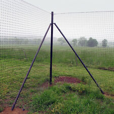 8' Tall Deer Fence Heavy Corner System 2 Pack