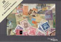 Deutsches Reich 25 verschiedene Sondermarken