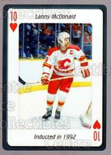 2006 Hockey Hall Of Fame Playing Card #23 Lanny McDonald