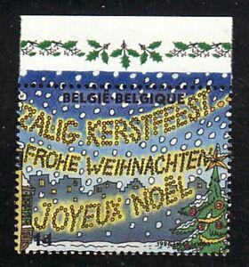 Belgien Jahrgang 1996 Blockmarke Oberrand Michel 2724 ** Weihnachten Zeichnungen