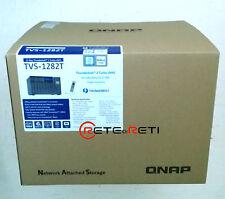 € 3650+IVA QNAP TVS-1282T NAS 12-Bay i7 3.6GHz 64GB 2xM.2/2xThunderbolt 2/2x10Gb