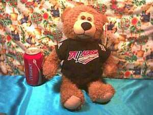 "ISC Super Speedway Talladega 500 15"" brown Teddy Bear * free shipping"