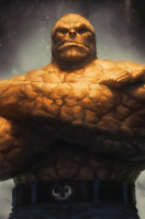 Fantastic Four #2 Stanley ArtGerm Lau Thing Virgin Variant (Marvel 2018)