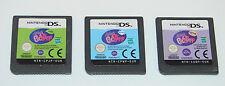 Littlest Pet Shop: Winter, Spring & Jungle - Lot of 3 Nintendo DS Games