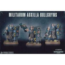 Warhammer 40k - Militarum Auxilla Bullgryns - Brand New in Box! - 47-14