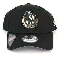 New Era Collingwood Magpies Team 9Forty Hat Genuine Cap In Black