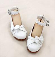 1/3 bjd SD13 SD10 girl doll white color flat shoes dollfie dream Luts Smart