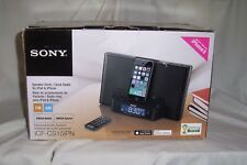 Sony ICF-CS15iPN iPhone Lightning Dock Clock Radio Speaker ICFCS15iPN