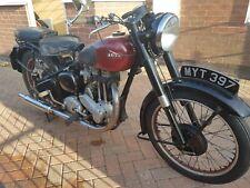 ARIEL  350  MOTORCYCLE 1952 PLUNGER