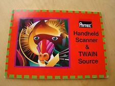 ARTEC HANDHELD SCANNER & TWAIN SOURCE USER'S MANUAL UNDATED