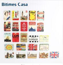 24 PCS UK England London Tower Bridge Refrigerator Fridge Magnets Set Souvenir