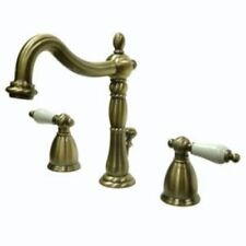 Vintage Brass Bathroom Sink Faucet New KB1973PL