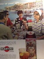Sa20 Ephemera 1963 Picture Advert Folded Martini Time Of Your Life