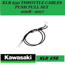 Kawasaki KLR650 650 2007 - 2017 THROTTLE CABLE SET
