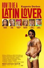"HOW TO BE A LATIN LOVER 11""x17"" Original Promo Movie Poster 2017 Eugenio Derbez"