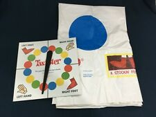 TWISTER GAME REPLACEMENT PARTS - VINYL FLOOR MAT AND SPINNER / C. 2002