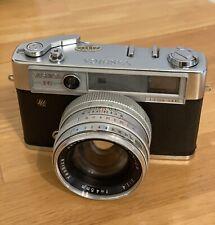 Yashica 1C Lynx-14 35mm Rangefinder Film Camera 45Mm 1.4 Lens w/ Case