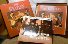 THE BEATLES BABY IT'S YOU A VISUAL RECORD WITH BOOK MADE IN ENGLAND SALE!!