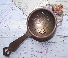 RMS Sylvania Cunard Shipping Line Ocean Liner Memorabilia Tea Strainer