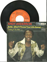 """Andy Anderson, Sally, G/VG, 7"""" Single, 9-1376"""