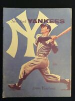 New York Yankee Vintage 1960 Yearbook - Jay Publishing Edition    M1235