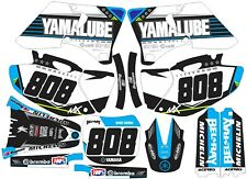 YAMAHA GRAPHICS  YZ 250f YZ250f 2000 2001 2002 Light blue