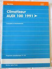 VAG Service: Climatiseur Audi 100 1991 et +