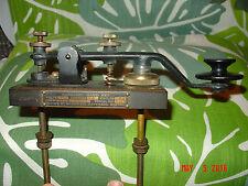Proud & Beautiful Boston Navy Shipyard Morse Code Telegraph Spark Key Type SE-68