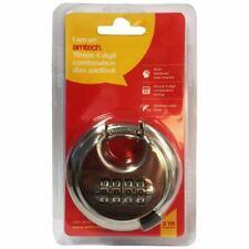 Amtech T1146 70mm 4-Digit Combination Disc Padlock