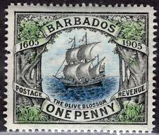 BARBADOS 1906 STAMP Sc. # 106 MH
