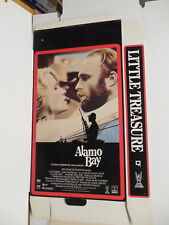 Alamo Bay & Little Treasure Movie Promotional Advertising Giant VHS Box Malle