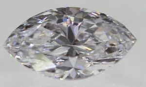 0.04 Carat D Color SI1 Marquise Natural Loose Diamond For Jewelry 3.25X1.56mm