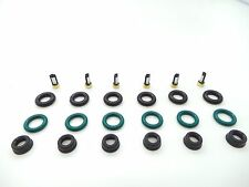 FUEL INJECTOR REPAIR KIT O-RINGS, PINTLE CAPS, SPACER FILTERS Jaguar X 2.5 3.0