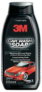 3M CAR WASH SOAP- CONCENTRATE - PREMIUM 3M CAR WASH - 473ML 3M-39000