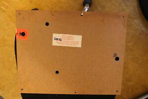 Thorens TD 165  Bodenplatte Original  wie neu